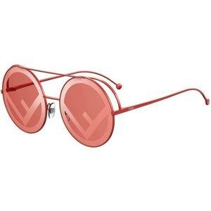 Fendi Round Style Red Lens